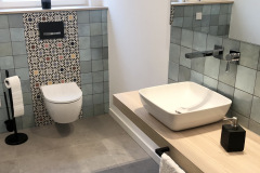 Gaeste-WC-Schacht